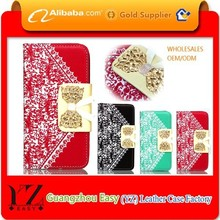 Printing phone case card holder wallet mobile phone cover for nokia e71