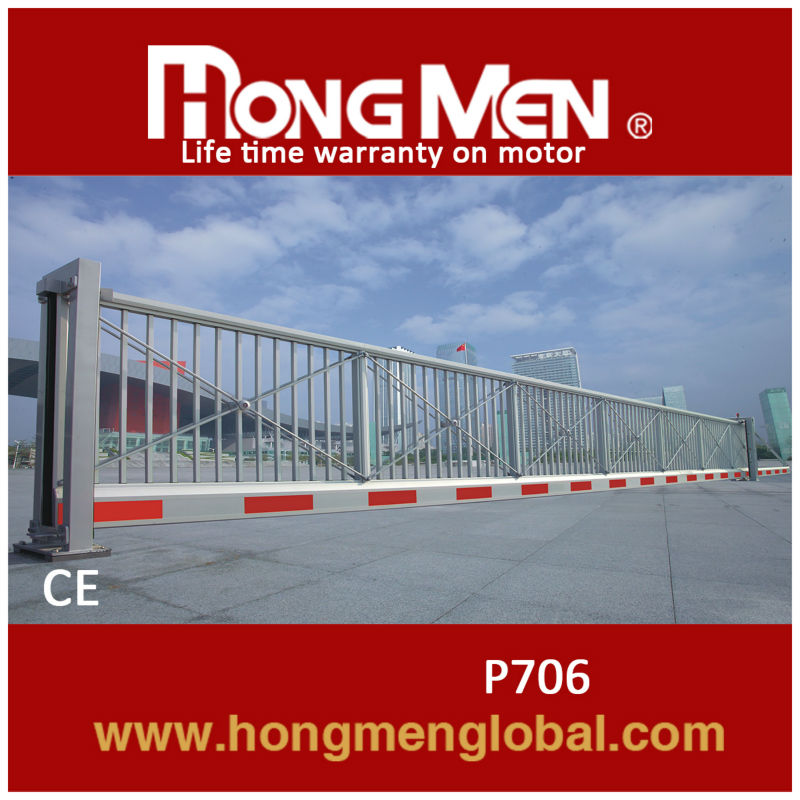 Electric sliding gate Collapsible gate 15 YEARS FACTORY!