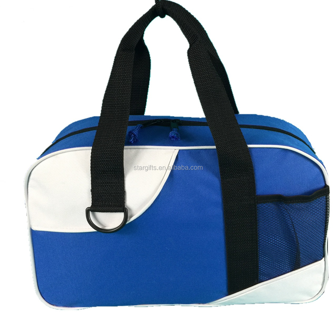 "12"" 14"" 18"" 21"" Duffle Bag Custom Medium Size Unisex Sport Gym Duffle Travel Bags With Two Tone"
