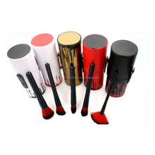 New Arrived Kylie 12pcs branded makeup brush set Cosmetic Makeup Brushes with Round Barrel Shape