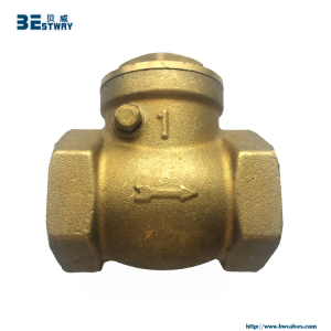 DN15 to DN100 horizontal type brass tilting disc check valve