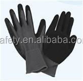 Polyester Latex Coated Working Gloves Anti