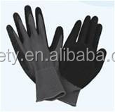 Polyester Latex Coated Working Gloves Anti-slip Cut Abrasion Resistance Safety Gloves