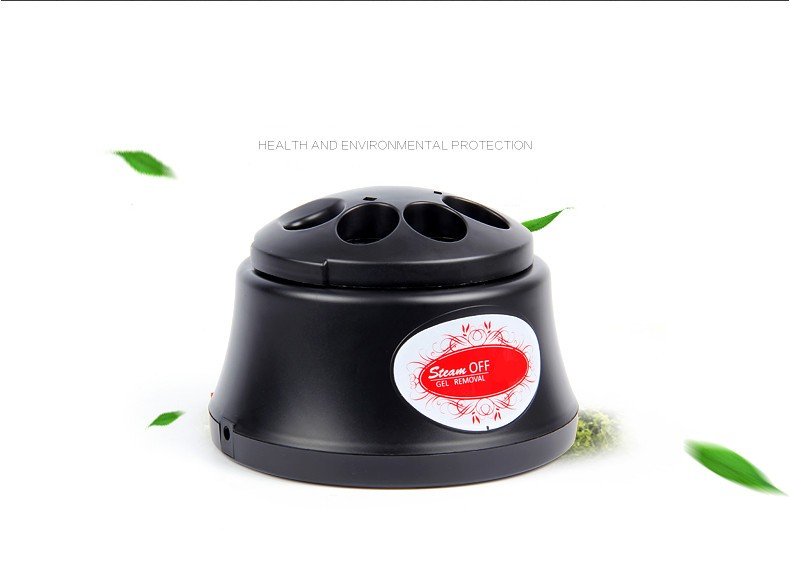 China supplier hot electric gel nail steamer machine remover for nails