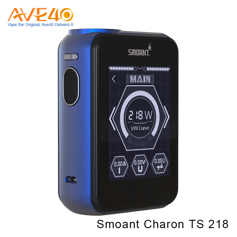 Hot Sale! Super large 2.4 inch Screen Smoant Charon TS 218 Mod