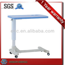 Medical equipment SJ-BST003 over bed table with wheels