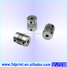 Flexible Coupling 5mm to 10mm Flexible Shaft Coupler 5*10mm Flex Clamp Shaft Coupling Connector Diameter 25mm Length 30m
