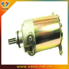 high reliability 12v dc gy6 starter motor for motorcycle