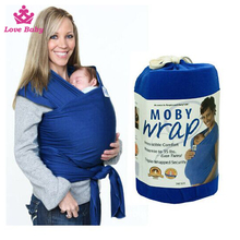 Wholesale Cotton Baby Carrier Sling Newborn Baby Swaddle Wrap