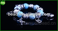 2014 Beautiful hand catenary wholesale macrame shamballa macrame bracelets