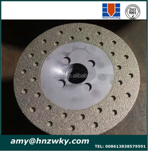 Electroplated or brazed Diamond Saw Blades Wet/Dry Circle Cutting Disc