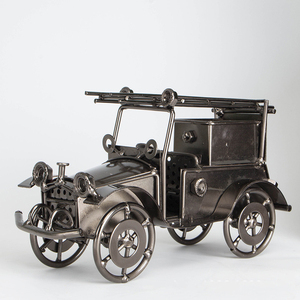 PR328 Four wheeled vehicle metal car scandinavian home decor