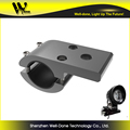 Clamp bracket for led vehicle light