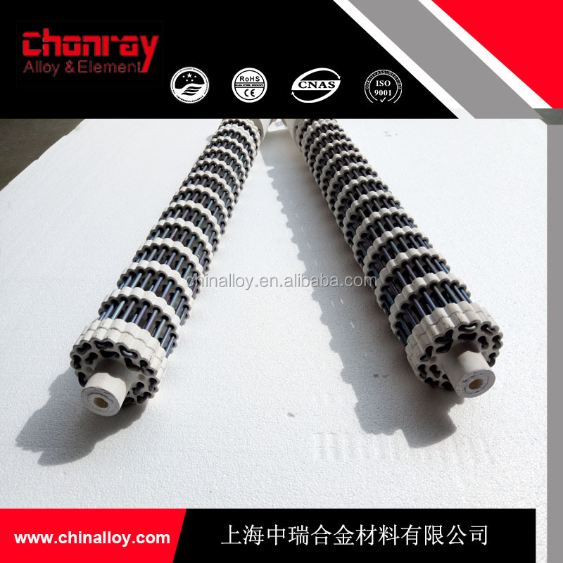 Industrial Ceramic Bobbin Gas Radiant Tube Heaters with Temperature Control