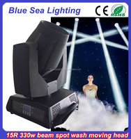 Cheap price moving head stage light sharpy 330w 15r beam light
