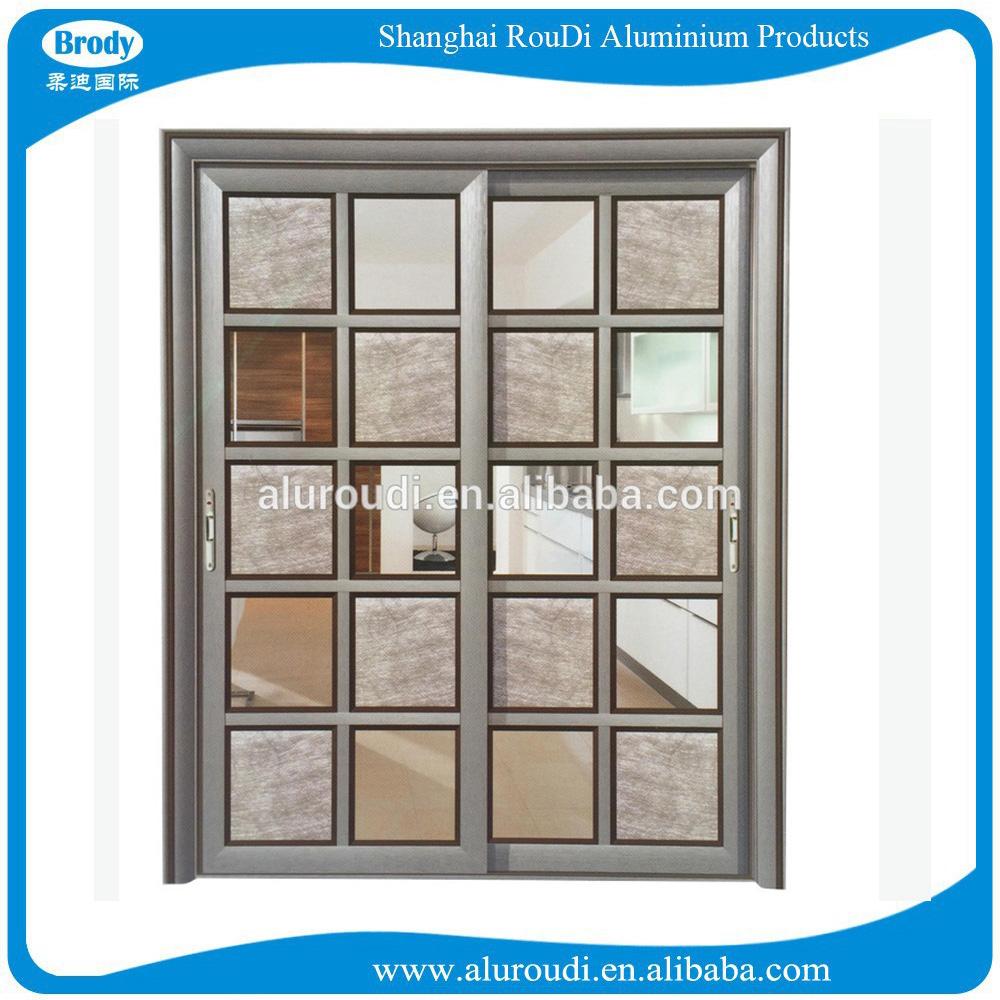 Aluminium glass sliding door design laminate door designs for Door design laminate