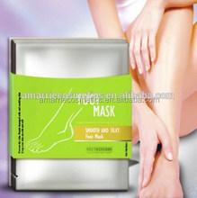 Peeling And Whitening Foot Peeling Mask Dead Skin Removal Foot Chemical Peel For Beauty