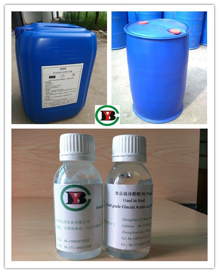 Food grade - Glacial acetic acid / GAA 99.7%min