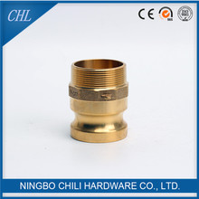 Brass Camlock Adapter Hose Coupling Male Thread Type F