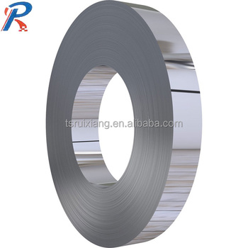 precise gauge bright or black annealed or blue chromted steel strip