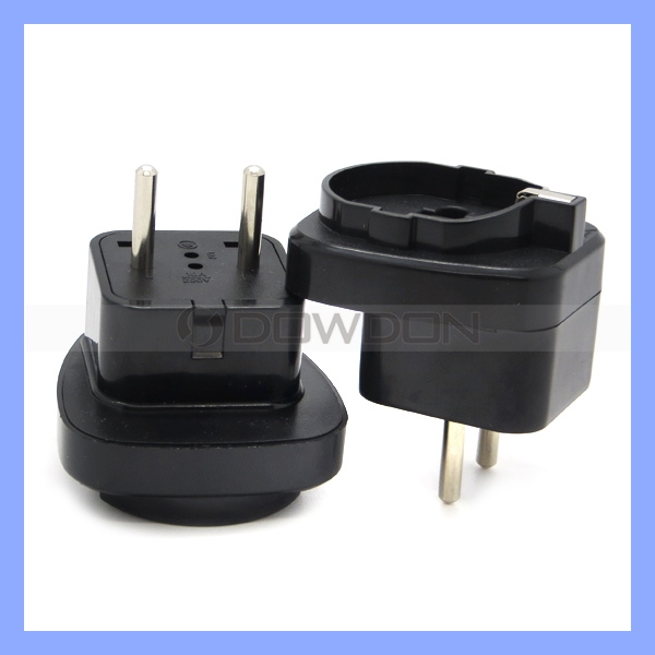 Universal Travel Adapter UK to EU Plug Adaptor Converter 2 Round Pin European Plug to 3 Pin UK Socket Adapter