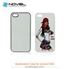 Best Selling 2D Sublimation Phone Cover Case For iPhone5/5S/SE,DIY Blank Mobile Phone Case