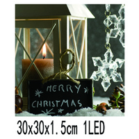 Good quality New Design Candle Holder Wall Picture with led Frame Printing on Canvas