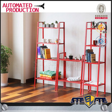 red color wall mounted wire mesh shelving steel mesh shelves