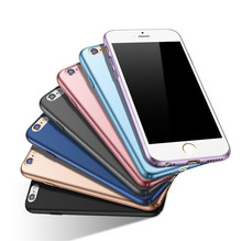 High Quality Matte Metal Paint PC Hard Shell for iPhone6 Case, Slim Cellphone Case for iPhone 6&7 Plus