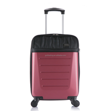 abs front pocket trolley luggage,cabin size trolley luggage,trolley case from China supplier