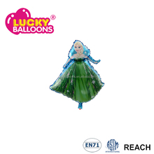 Elsa frozen barbie doll foil balloons for kids