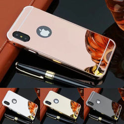 High quality wholesale mirror cell phone case for iphone 4 5 6 7 8 x