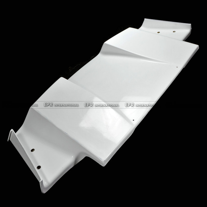 Carbon Fiber / FRP Fiber Glass Rear Under Diffuser Bottom Spoon Style For Honda S2000