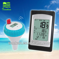 WT0122 Professional Wireless Digital Waterproof and floating Outdoor transmitter Thermometer