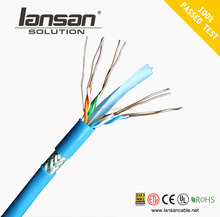 data transmission cat6 lan cable SFTP network cable Pass fluke test SFTP cat6 23AWG