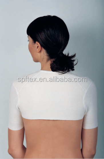 High quality angora women shoulder warmer for Arthritis
