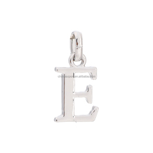 DIY jewelry wholesale china letter charms alphabet pendant for necklace