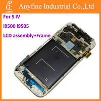 Touch screen LCD display+frame for Samsung Galaxy S4 i9500