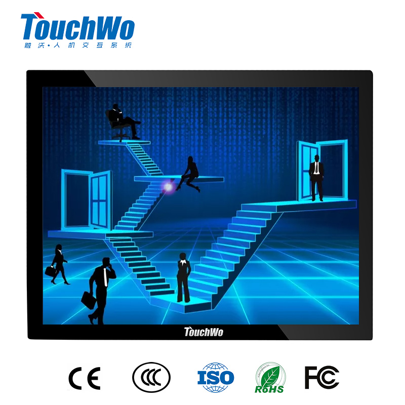 Guangzhou supplier 12.1 inch industrial touch monitor inter core i7 desktop