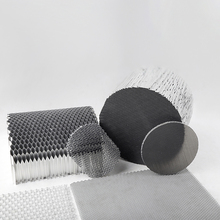 Coated stainless steel honeycomb wire mesh aluminium of fine