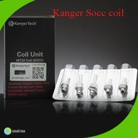 Kanger newest Organic Cotton SOCC Coil Kanger Single SOCC coil head for Protank 2/Mini Protank 2