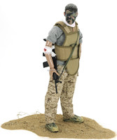 "12"" Special Forces Action Figure/Custom Made Wounded soldier/hot toys army action figures"