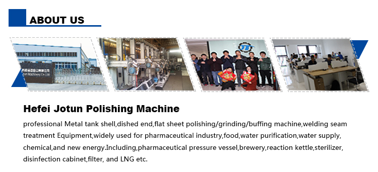Full-Automatic Stainless Steel Tank Surface Polishing Machine