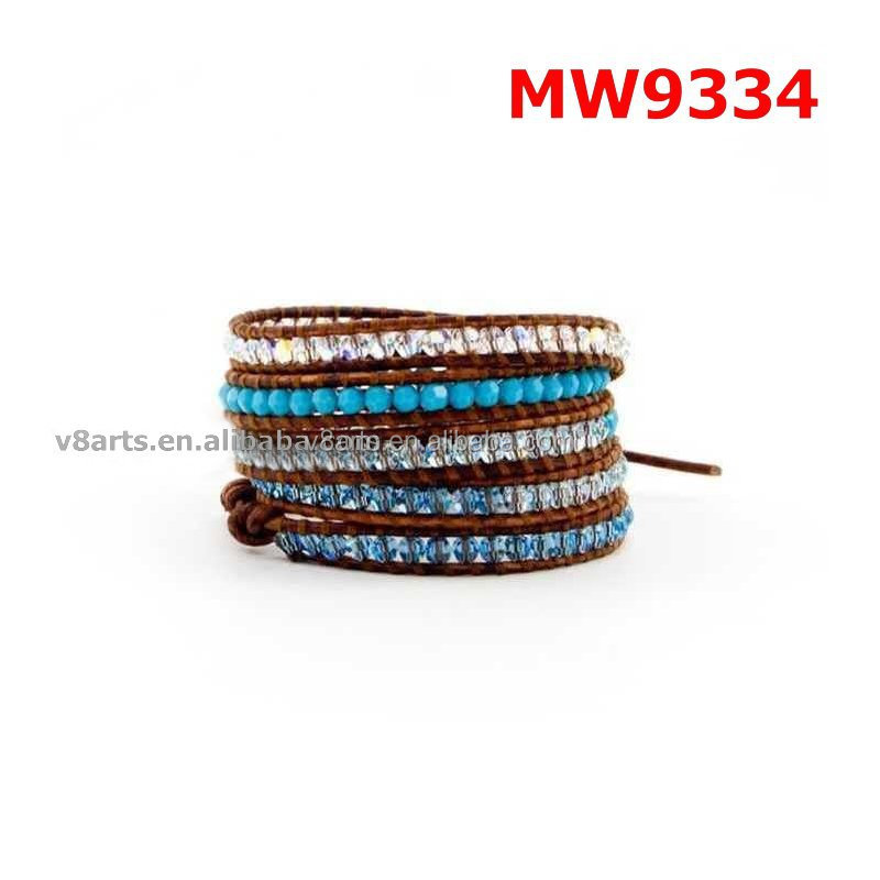 New product leather bracelets designer leather bracelet with name