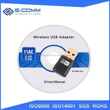 600M AC Wireless USB WiFi Adapter 2.4+5.8Ghz Dual Band USB Wifi Antenna External Network Card Adaptador Wi Fi Receiver