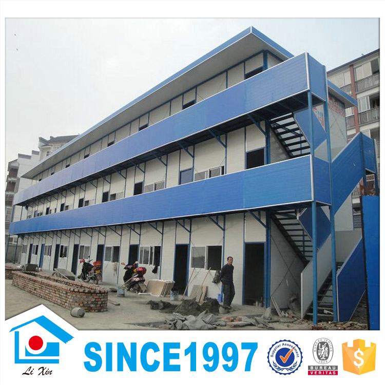 2016 Comfortable Steel Frame Pre Fabricated Houses For Sale In South Africa