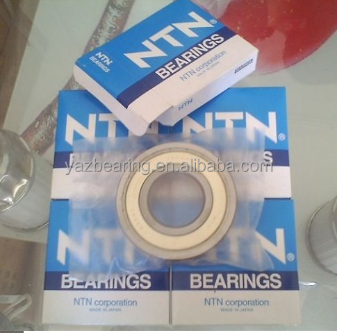 Japan NTN 6301 Z ZZ deep groove ball bearings