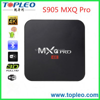 Pre-installed XBMC Kodi S905 Quad Core MXQ Pro TV BOX Andorid 5.1 New Amlogic Chip WiFi Media Player