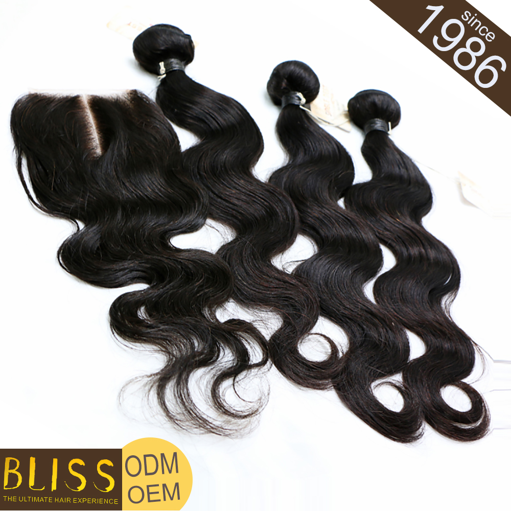 Heathy Ends 100% Natural Low Price Chinese Remy Hair Weft For Extension