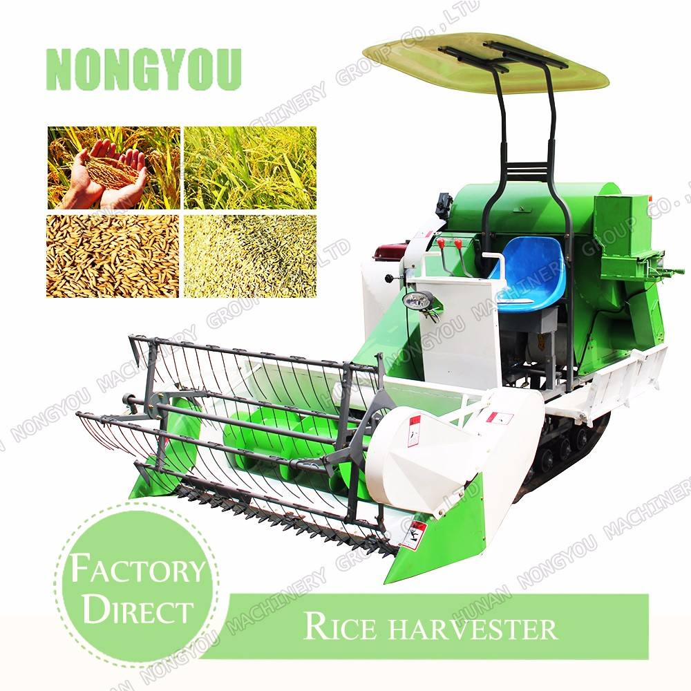 Small Rice Combine Harvester Harvester Factory Direct Small Combine Harvester Machine 4Lz-1.2